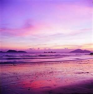 Purple sunset , beautiful ! | cool photography | Pinterest