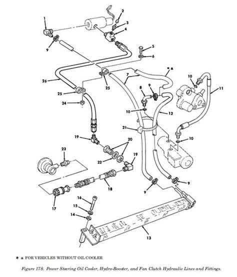 power steering hydraulic hose