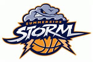 Basketball Sports Team Logos Storm