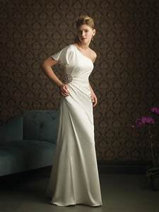 Simple wedding gown with sleeves ipunya for Simple wedding dresses with sleeves
