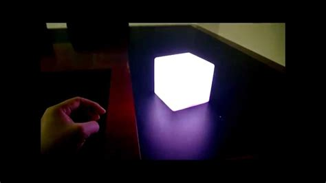 mini cube led lights led mini cubes 10cm light cubes for table top decoration