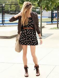 How to Wear Combat Boots in summer 2018? Cute summer ...