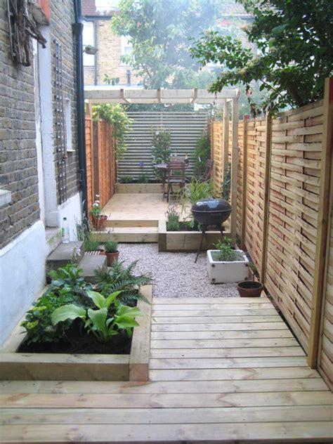 Creative Ideas For A Long Narrow Garden Design