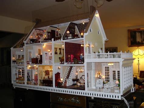 georgian style home beautiful dollhouses and miniatures on doll