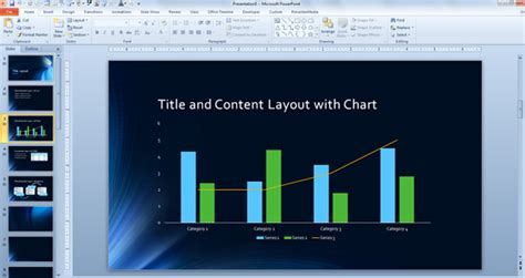 tunnel template  microsoft powerpoint