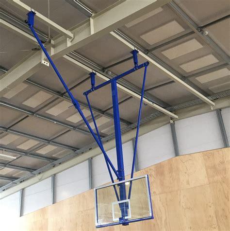 Ceiling Equipment by Bb2000 Universal Folding Basketball System Grand Slam
