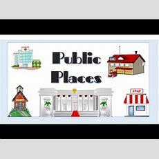 Public Places  English Language Youtube