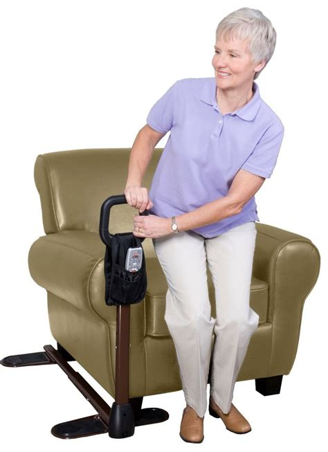 chair lift handle support grip sit stand grab bar