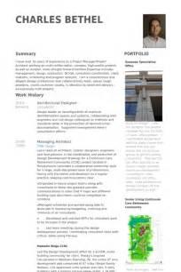 architectural design resume exles concepteur en architecture exemple de cv base de donn 233 es des cv de visualcv