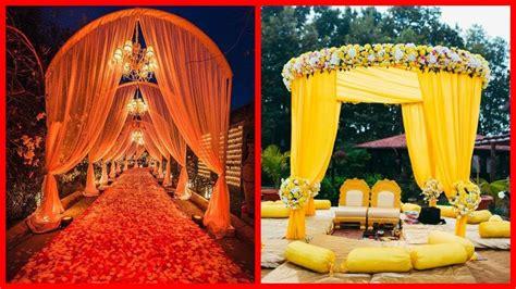 latest mehndimayon entrance stage decoration ideas