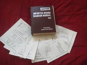 1990 Mazda B2200 B2600i Wiring Diagrams Schematics Set