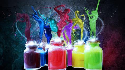 pc  colorful wallpaper keren