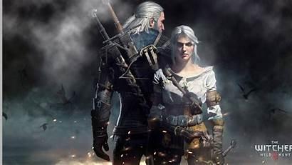 Ciri Wallpapers Geralt