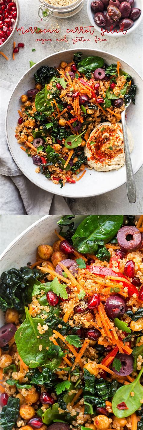 leckere salate rezepte carrot and harissa salad recipe food rezepte
