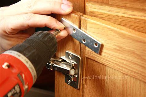Repair Cabinet Door by Fixing A Cracked Cabinet Door