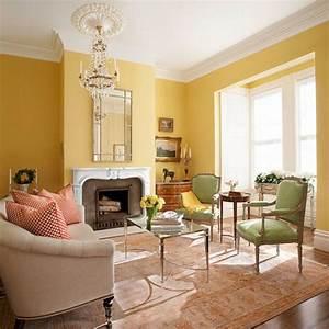 Yellow, Living, Room, Color, Schemes, Ideas, 3, U2013, Decoredo
