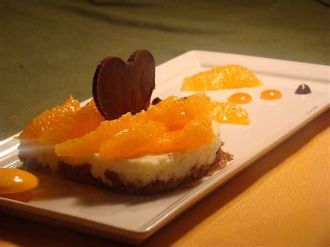 dessert a la clementine entremet cl 233 mentine et chocolats le flo des saveurs