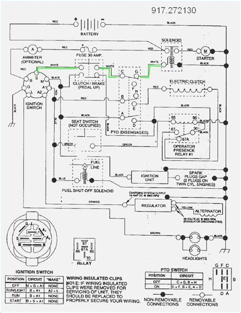 Fs5500 Craftsman Tractor Wiring Diagram by Image Result For Craftsman Gt 5000 Lawn Mower Wiring