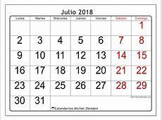 Calendarios julio 2018 LD Michel Zbinden es