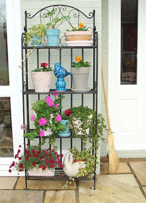 Outdoor Etagere by Garden Etagere Audenza