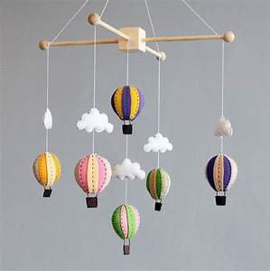 Mobile Baby Diy : diy baby mobile how to make your own hot air di buttonfaceco kids love pinterest ~ Buech-reservation.com Haus und Dekorationen