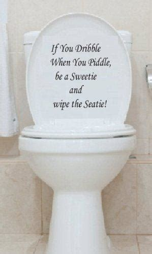 english toilet seat wall post decal art wallpaper hanging