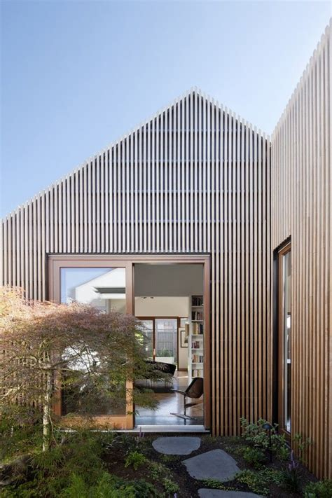 wood cladding ideas  pinterest wood
