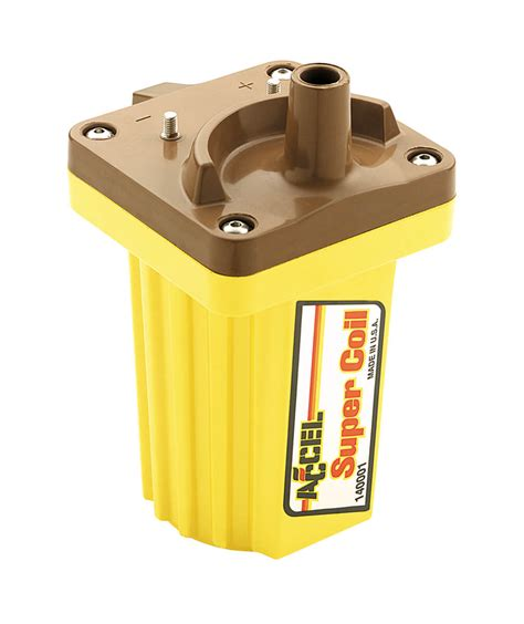 ACCEL 140001 Ignition Coil - SuperCoil - Street -Strip ...