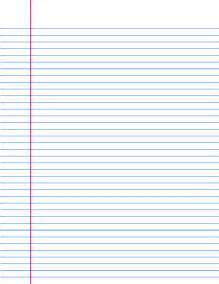 9 best images of printable ruled paper printable lined paper free printable lined paper to