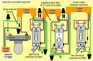 4 Way Switch Wiring Diagrams