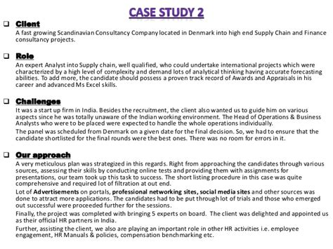 case studies executive search firm headhunting firm