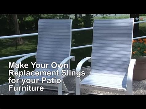 replacement sling cover  patio furniture