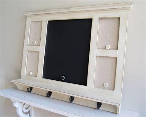 kitchen chalkboard organizer message center with hooks chalkboard magnet board kitchen 3345