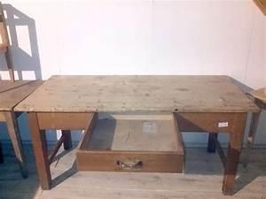 Alter Esstisch Holz : alter esstisch schreibtisch arbeitstisch 02005 ~ Orissabook.com Haus und Dekorationen