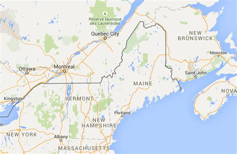 Driving Distance From Portland, Me To Quebec City, Canada