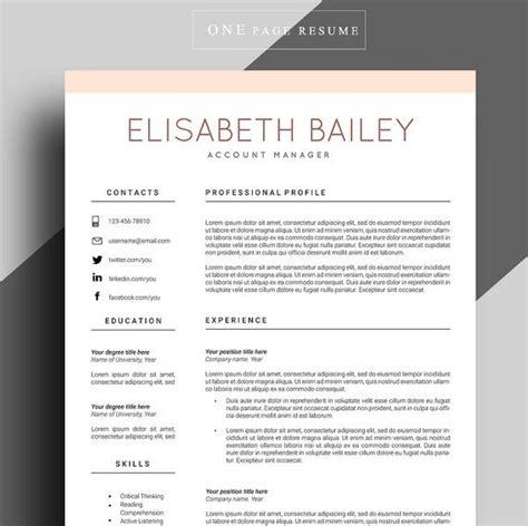 25 unique resume format ideas on resume