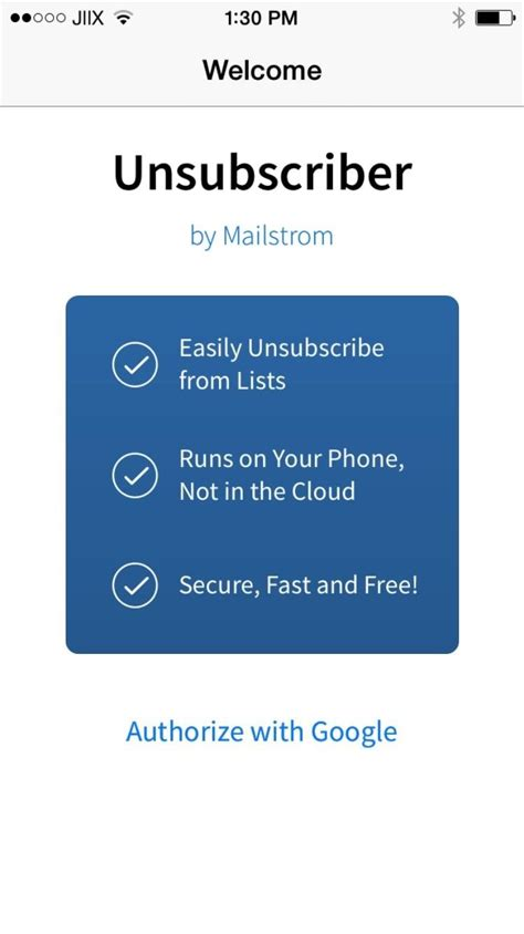 how to get rid of emails on iphone unsubscriber the easiest way to get rid of annoying