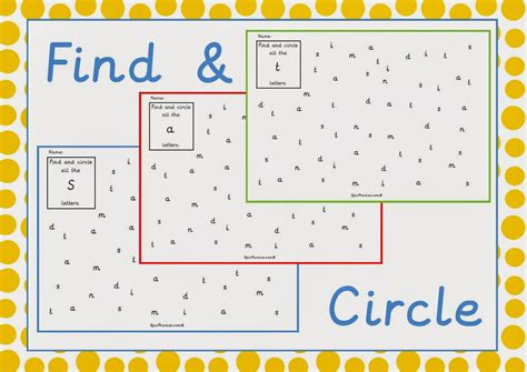 simply learning phonics phase 2 printable activity
