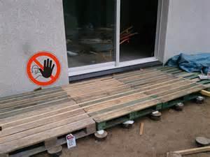 terrasse en bois palette safally terrasse en bois