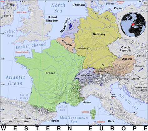 Europe Occidentale Carte by Western Europe 183 Domain Maps By Pat The Free Open
