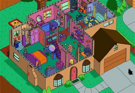 upstairs floor plans bricks n geeks la maison des simpsons se dévoile