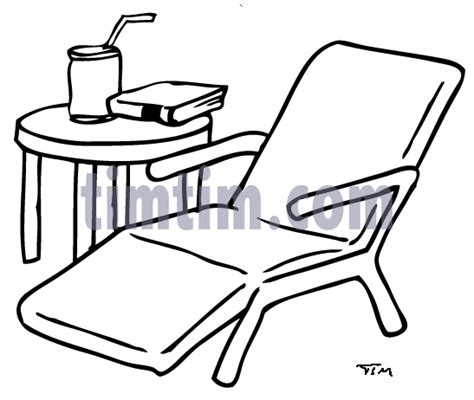 free drawing of garden chair bw from the category building