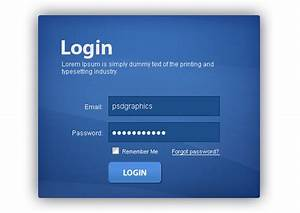 20 useful login page template free psd files the for Login page template wordpress