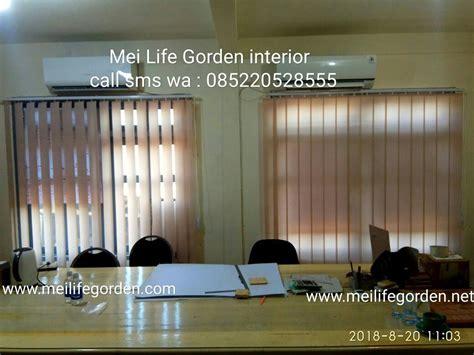 verticall blinds surabaya interior desain