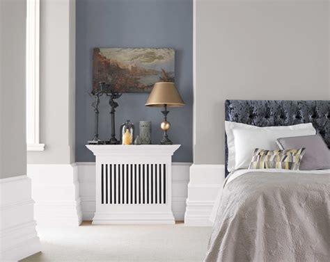 crown paints grey elegance traditional bedroom
