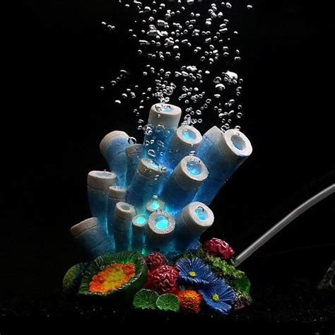 fish tank bubbler decoration coral air oxygen aquarium fish tank bubbler