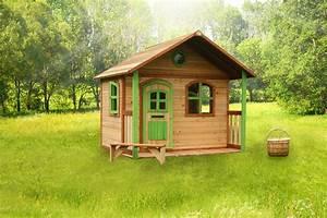 Spielhaus Holz Garten : kinder holz spielhaus classic 170cm breit kinderspielhaus ~ Articles-book.com Haus und Dekorationen