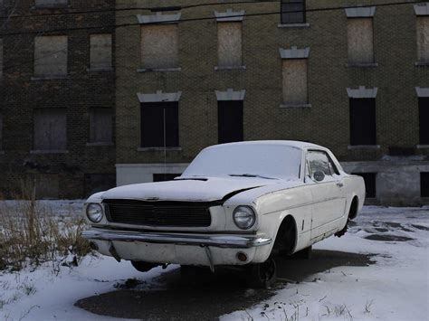 Abandoned Cars Of Detroit  Business Insider