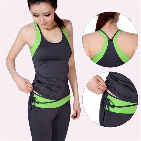 Womenu0026#39;s Yoga sets Sport Suit Workout Clothes Tracksuit For Women Sports Suit Female Tracksuits ...