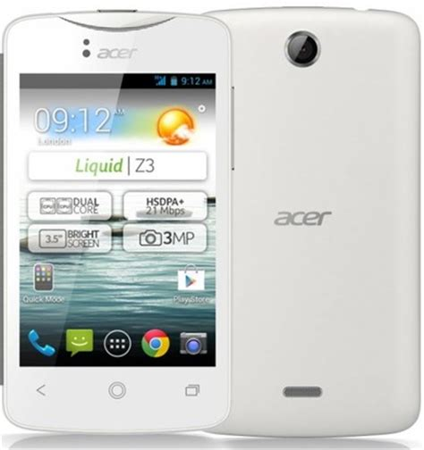 Diff Rence Entre Iphone Et Smartphone by Diff 233 Rence Entre L Acer Liquid Z3 Et L Acer Liquid Z2